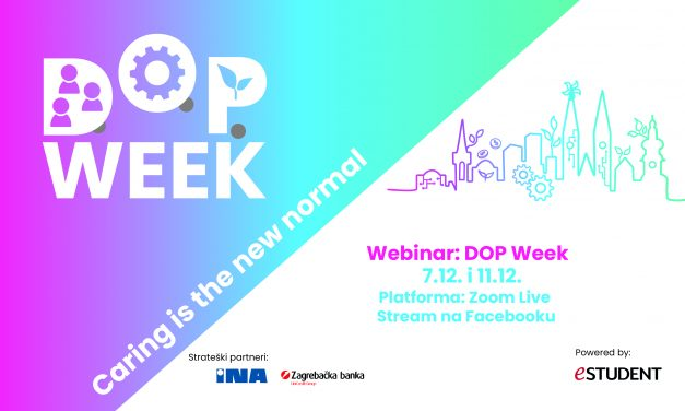 Počinje 1. DOP Week: Caring is the new normal