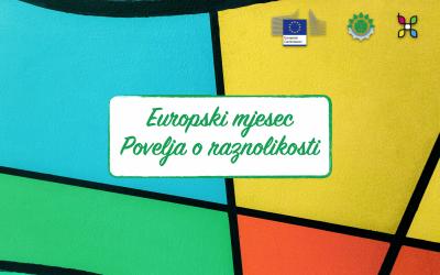 Europski mjesec Povelja o raznolikosti zamijenit će Europski mjesec raznolikosti