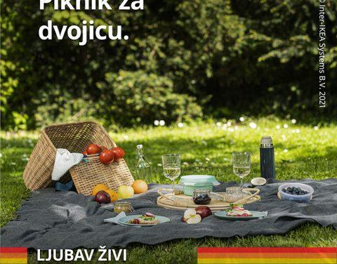 """IKEA Hrvatska podigla zastavu duginih boja te dala podršku LGBT+ pravima i kampanjom """"Ljubav živi i izvan četiri zida"""""""