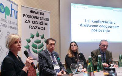 Održana 11. Konferencija o odgovornom poslovanju: Kako možemo osigurati održivu budućnost?