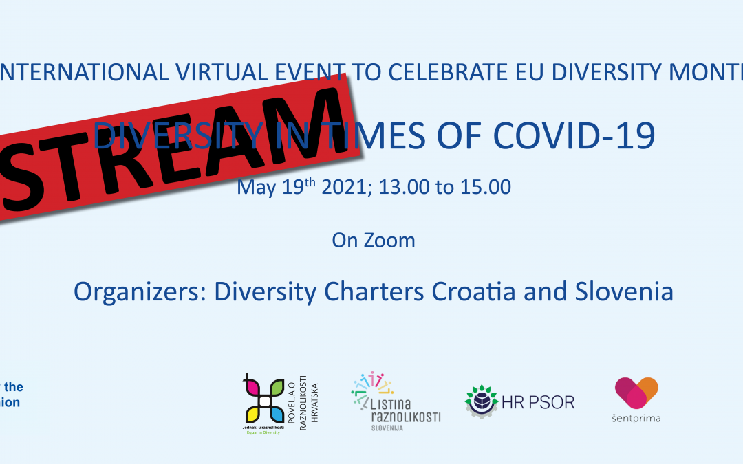 LIVE STREAM – DIVERSITY IN TIMES OF COVID-19
