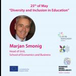 Raznolikost i uključivost u obrazovanju, 25.05.2021.