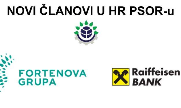 Novi članovi HR PSOR-a: Fortenova Grupa i Raiffeisenbank Austria