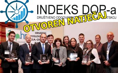 Otvoren trinaesti natječaj Indeksa DOP-a