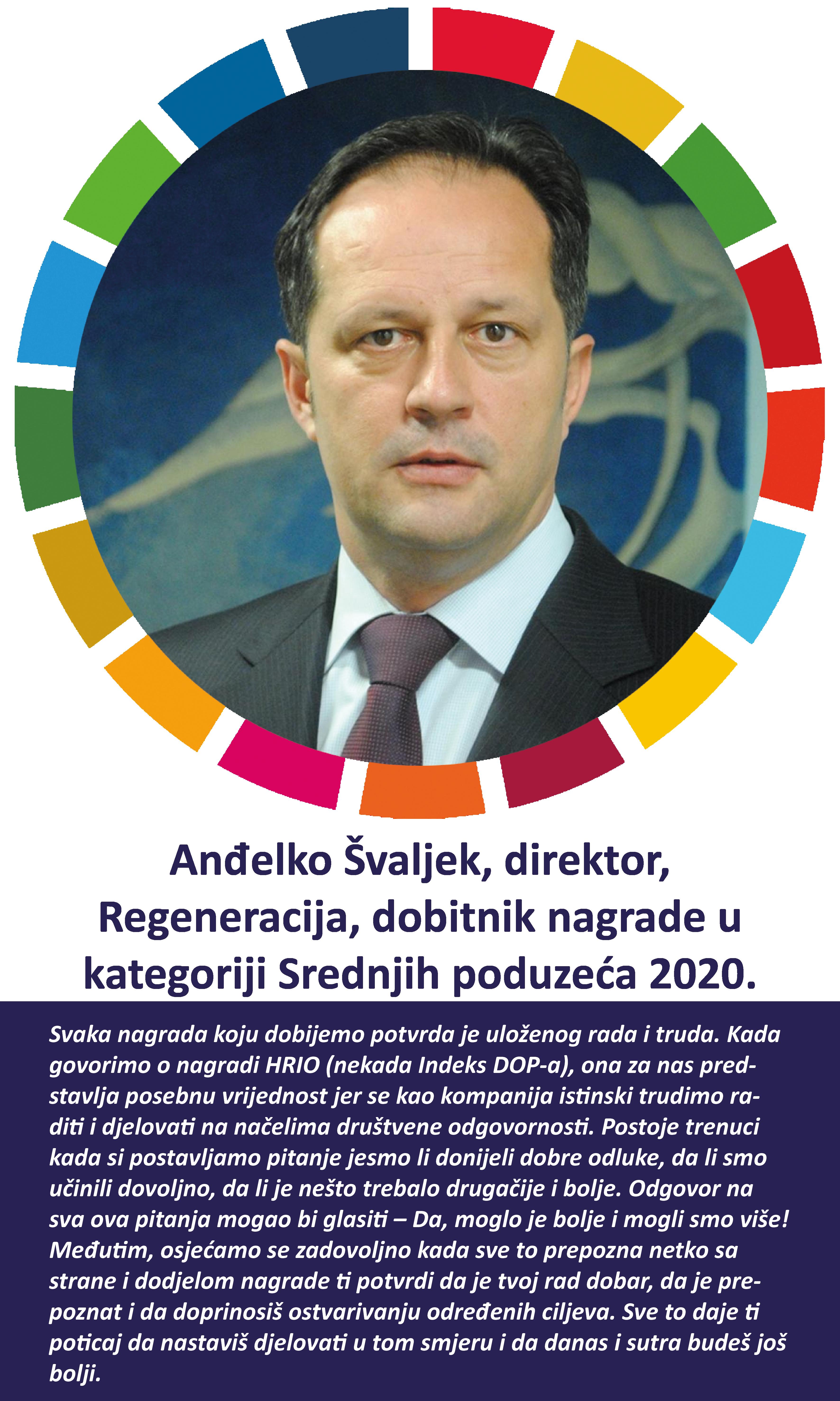 Anđelko Švaljek, direktor - Regeneracija Društveno odgovorno poslovanje u Hrvatskoj - Dop.hr
