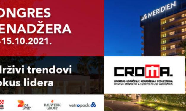 CROMA organizira Kongres europskih menadžera u Splitu