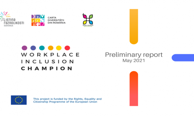 Preliminary Report and findings of the ongoing Workplace Inclusion Champion programme