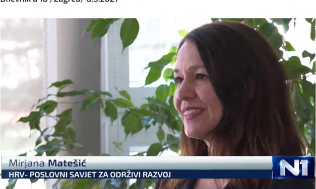 N1TV- izjava Mirjane Matešić povodom Međunarodnog dana žena
