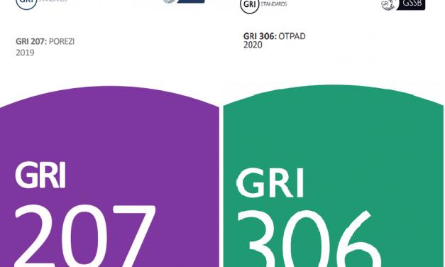 Objavljena dva nova GRI Standarda