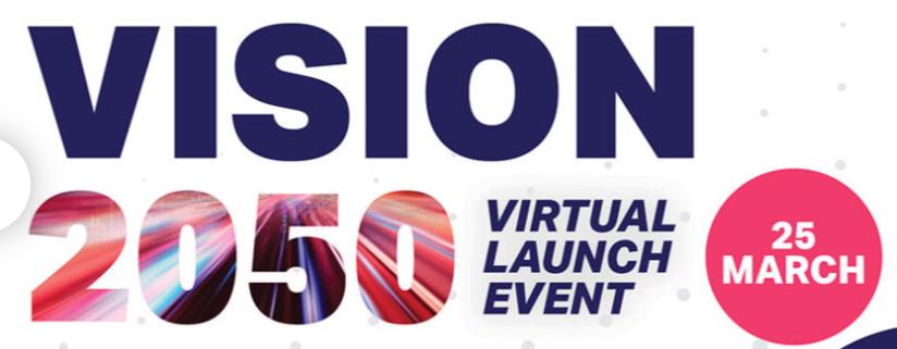 Predstavljanje dokumenta Vision 2050 – virtualni događaj